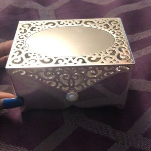 Mini Chrome Jewelry Box
